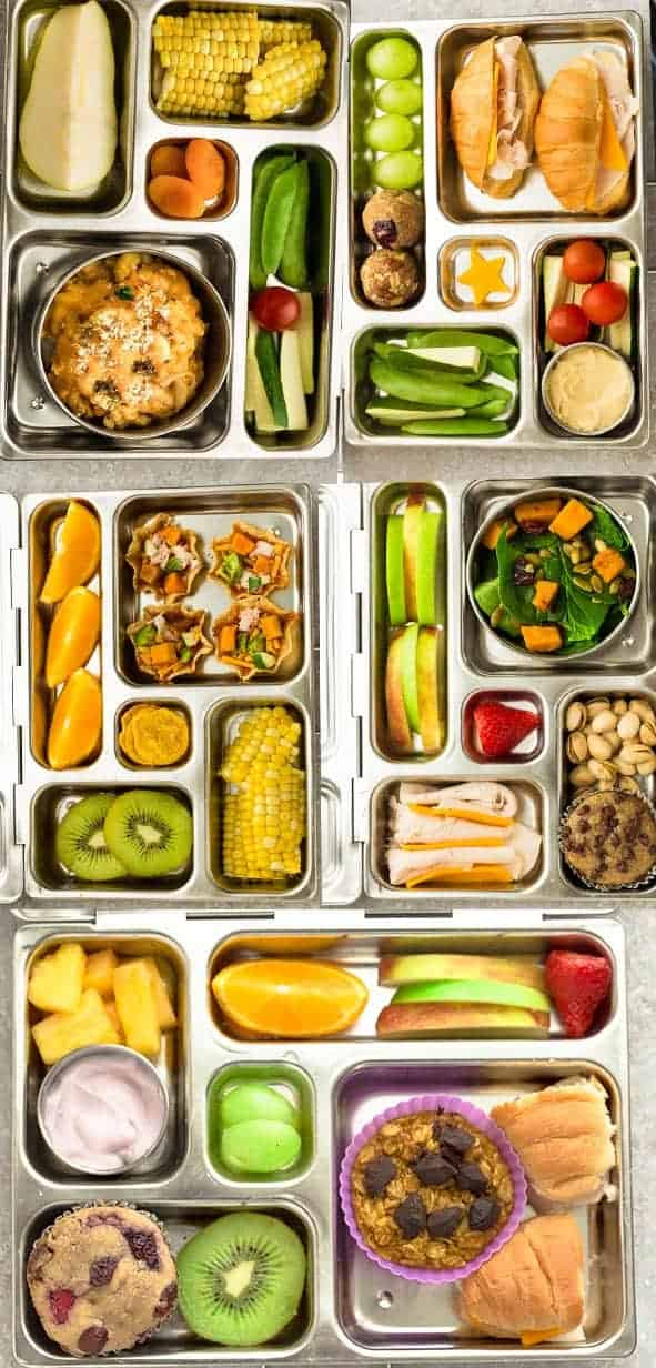 5 Easy Bento Box Lunches for Fall | Healthy \u0026 School Lunch Ideas