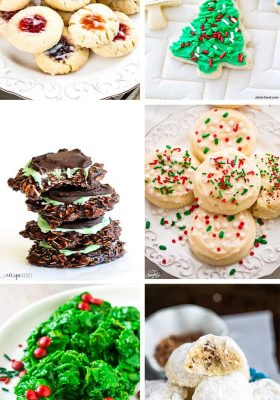 50 must have cookies for the holiday cookie platter at your home. Make up these cookies and wow your family and friends with sweetness overload. Or grab some platters and hand out to loved ones and neighbors as a happy holidays gift.