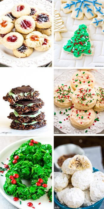 50+ Must Have Cookies for the Holiday Cookie Platter