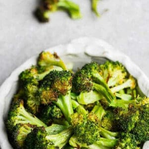 Pinterest image for how to cook frozen broccoli.