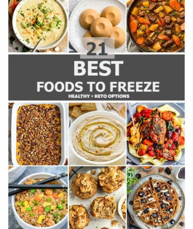 21 best foods to freeze featured image